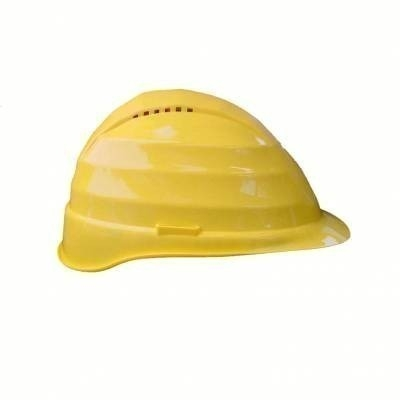 Casque chantier - PE -Coiffe plastique 6 points