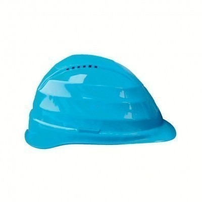 Casque chantier - PE - Coiffe textile 4 points