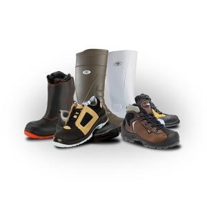 Chaussures, bottes et baskets de sécurité
