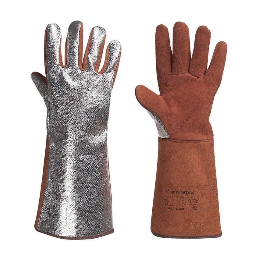Glove y Welding Rostaing Alu Alutherm250 Leather Alu nOPk80w