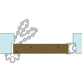 kit anti pince doigt pour porte ouverture 180. Black Bedroom Furniture Sets. Home Design Ideas