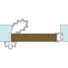 kit anti pince doigt pour porte ouverture 90. Black Bedroom Furniture Sets. Home Design Ideas