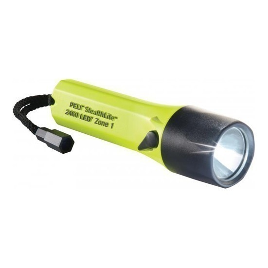 Lampe à main LED rechargeable PELI 2460 Atex zone 1