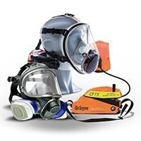 Capteurs de gaz et protection respiratoire