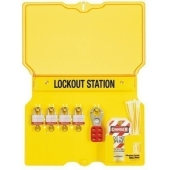 Station de 4 cadenas Master Lock 1482bp410