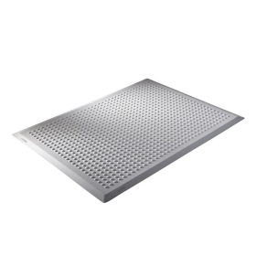 Tapis anti-fatigue multifonction ERGOLASTEC basic WET gris