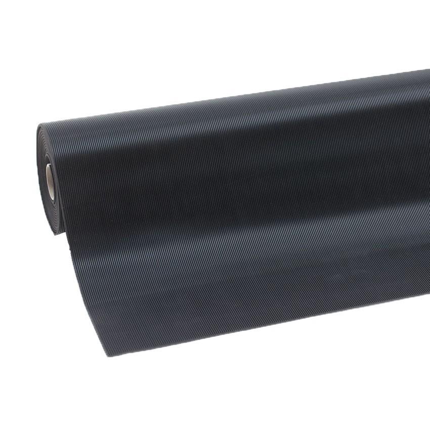 tapis caoutchouc stries fines 750751 rib n roll - Tapis Caoutchouc